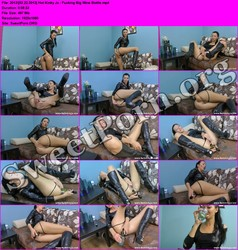 HotKinkyJo.xxx [02.22.2013] Hot Kinky Jo - Fucking Big Wine Bottle Thumbnail
